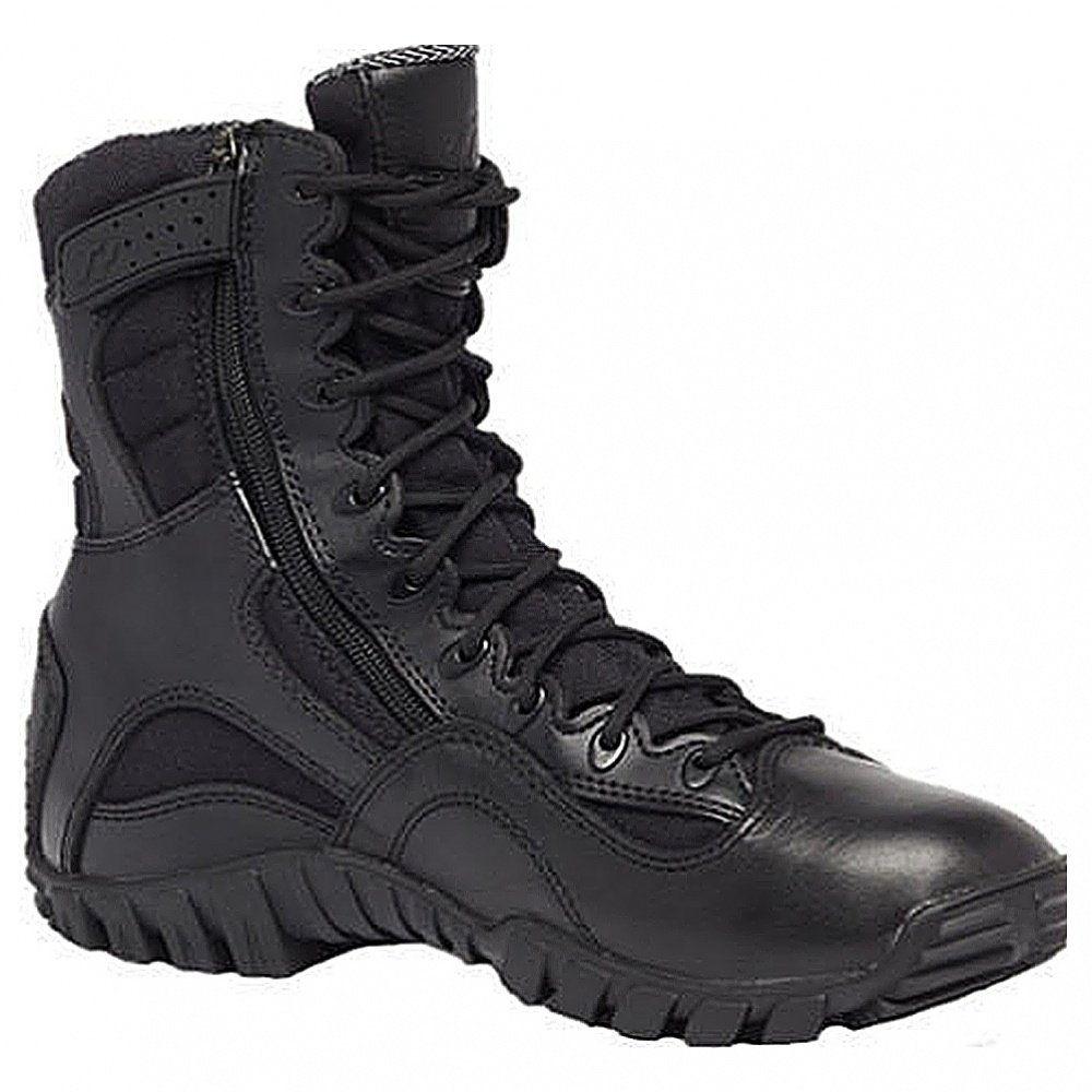 Amazon.com: Belleville TR960z Tactical Research Khyber Lightweight Black  Side-Zip Boot: