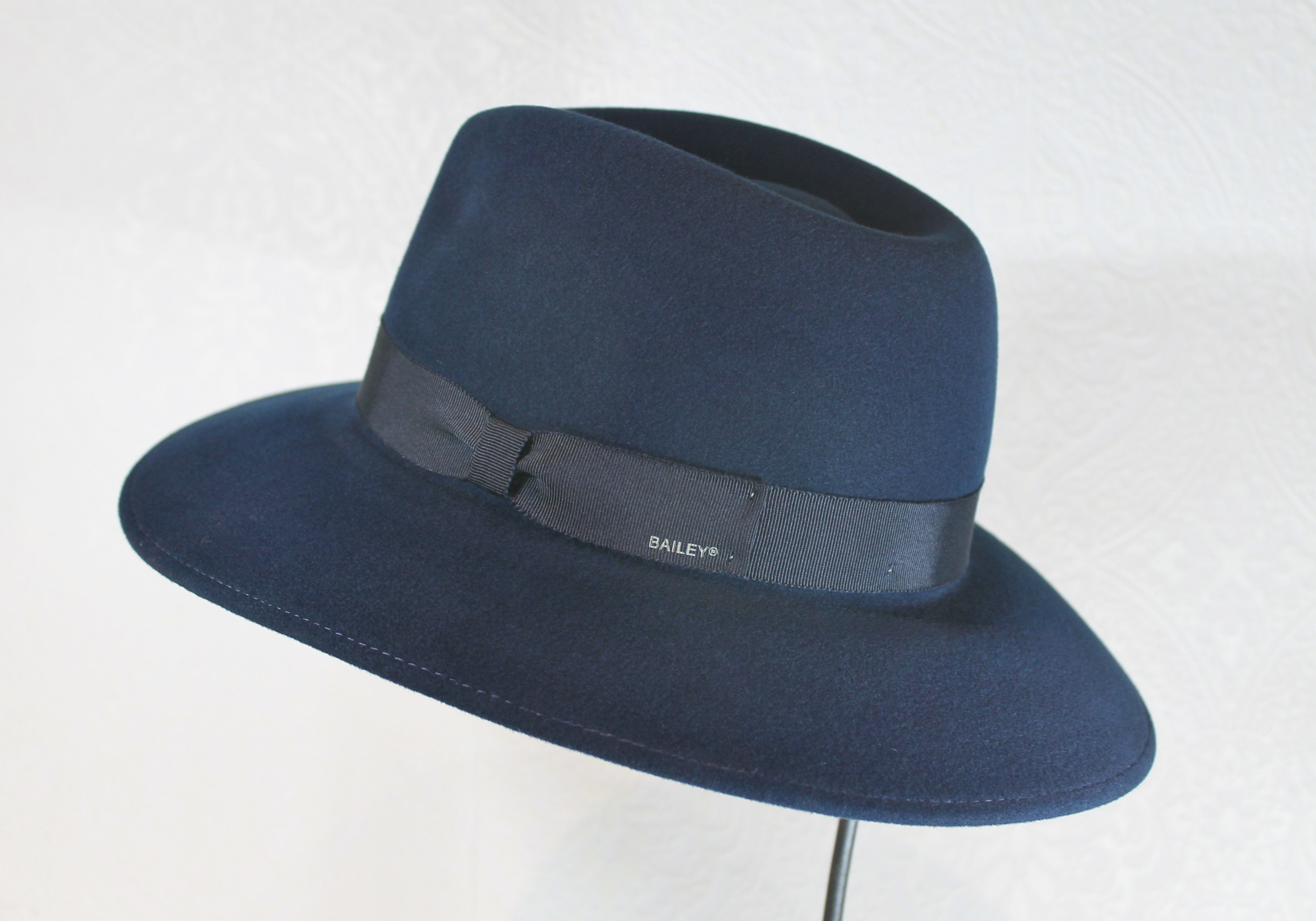 4b1b42abd7698 super soft fedora wide brim makes for a great rain hat made in the U.S.  Shop local! Bonnet, Portland's locally owned hat shop and millinery