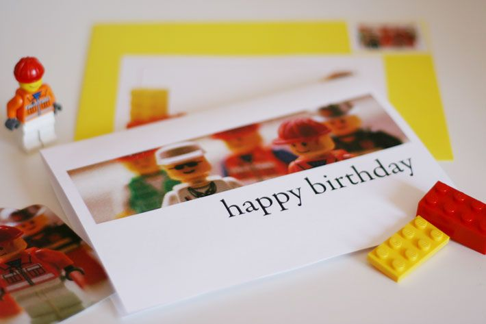 Free printable Lego Happy Birthday card but would be cute to – Lego Birthday Card