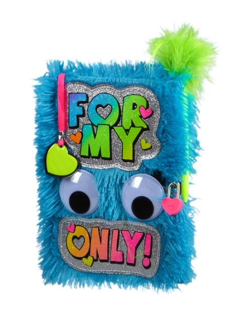 Toys & Games Justice for Girls Llamacorn Faux Fur Journal Diary