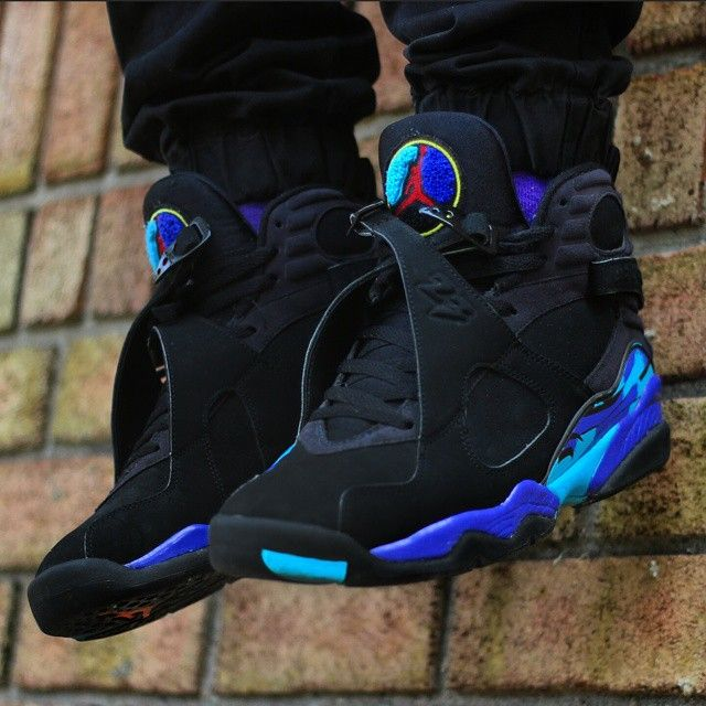 3a677d7fe jordan retro 8 aqua - Google Search