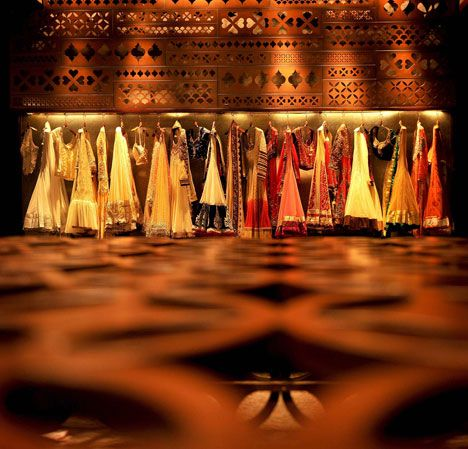 The Interior Of Tashya A High End Indian Bridal Store In Chandigarh Bridal Shop Interior Clothing Boutique Interior Clothing Store Interior