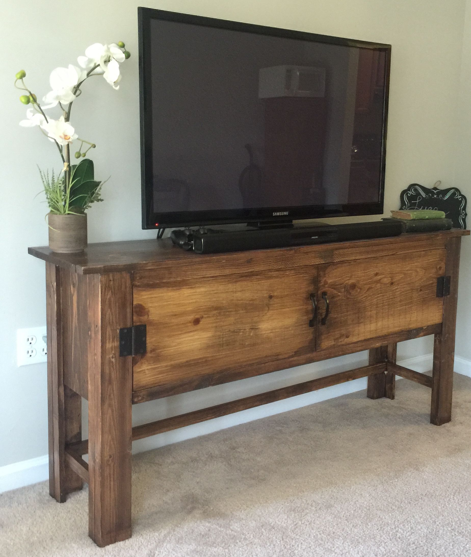 Ana White Balin Tv Stand Diy Projects Diy Tv Stand Home