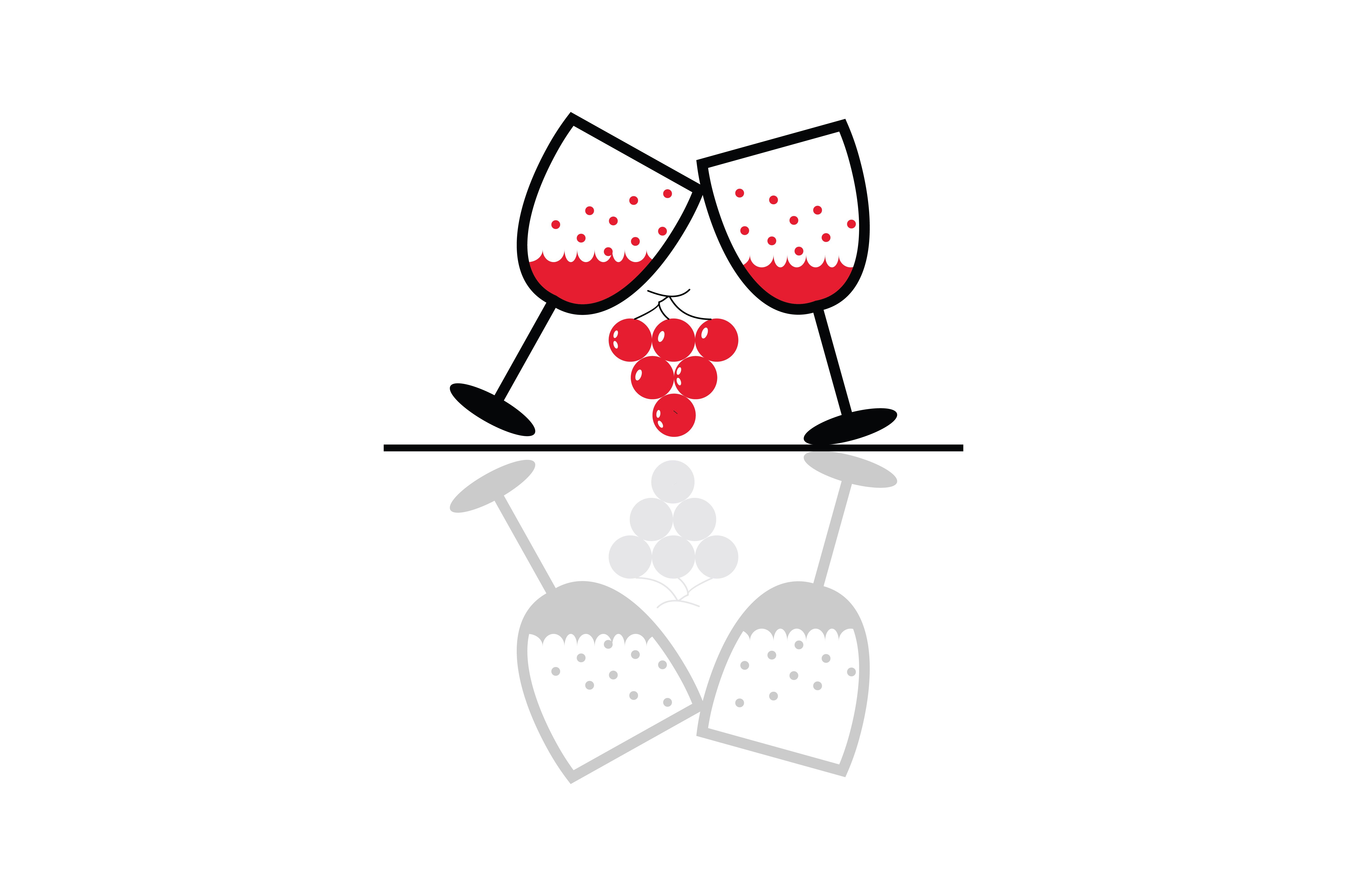 Wine Glass Drink Cheers Icon (Graphic) by Yuhana Purwanti