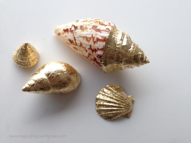 DIY gold shell
