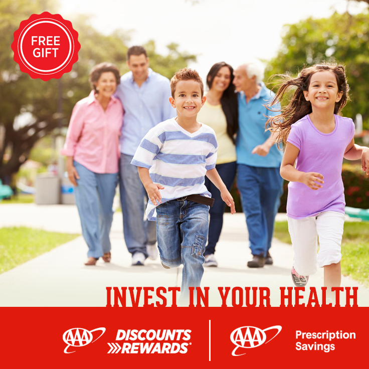 Join #AAADiscounts in supporting American Heart Month. Request info about AAA Prescription Savings now thru 3/31/16 for your free Get Active! Kit.