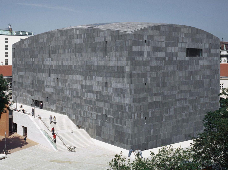 Ortner Ortner Baukunst Mumok Divisare Architecture Museum Of Modern Art Museum