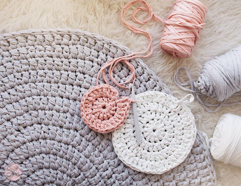 Alfombra de trapillo modelo teo alfombras pinterest for Modelos de alfombras