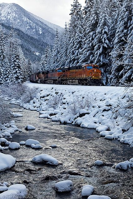 Snow Train, from Seattle to Leavenworth, WA for the Christmas tree ...