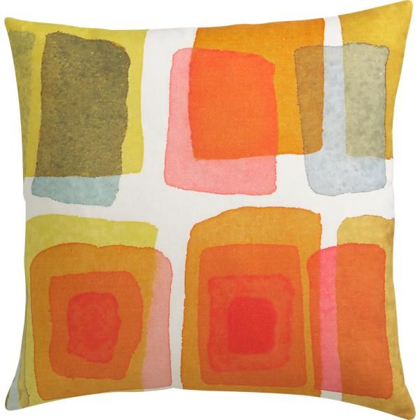 watercolor pillow. love it Indoor Inspiration Pinterest Watercolor, Watercolor art and Prints