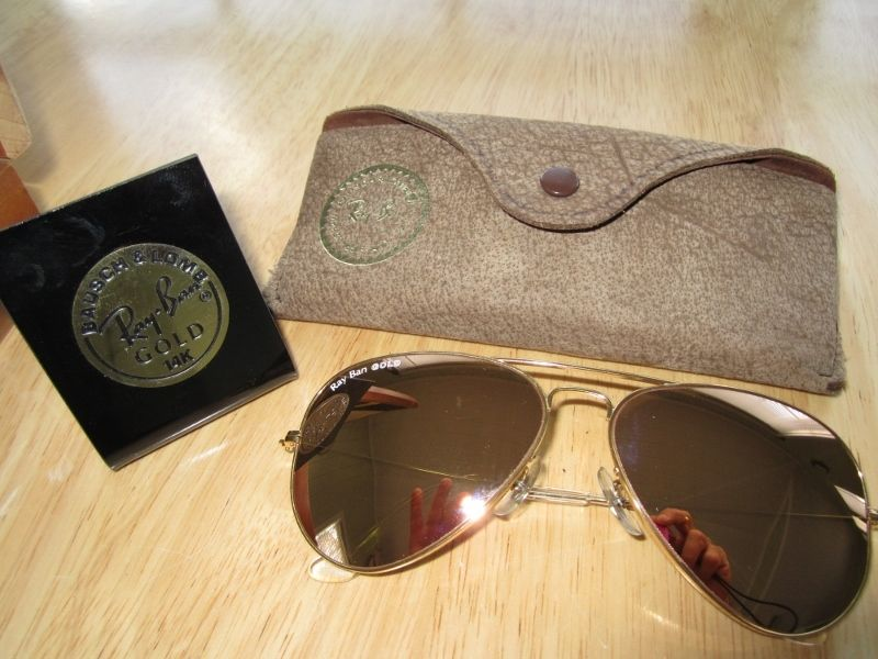4b52a90049 Ray Ban Gold 14k Series Bausch   Lomb - Mother of all Ray Ban sunglasses