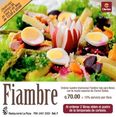 Disfrutas los sabores de temporada en Restaurante La Poza. ¡Te esperamos!