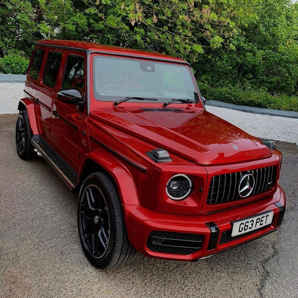 Mercedes Benz G Class On Instagram Red Is The New Black Or