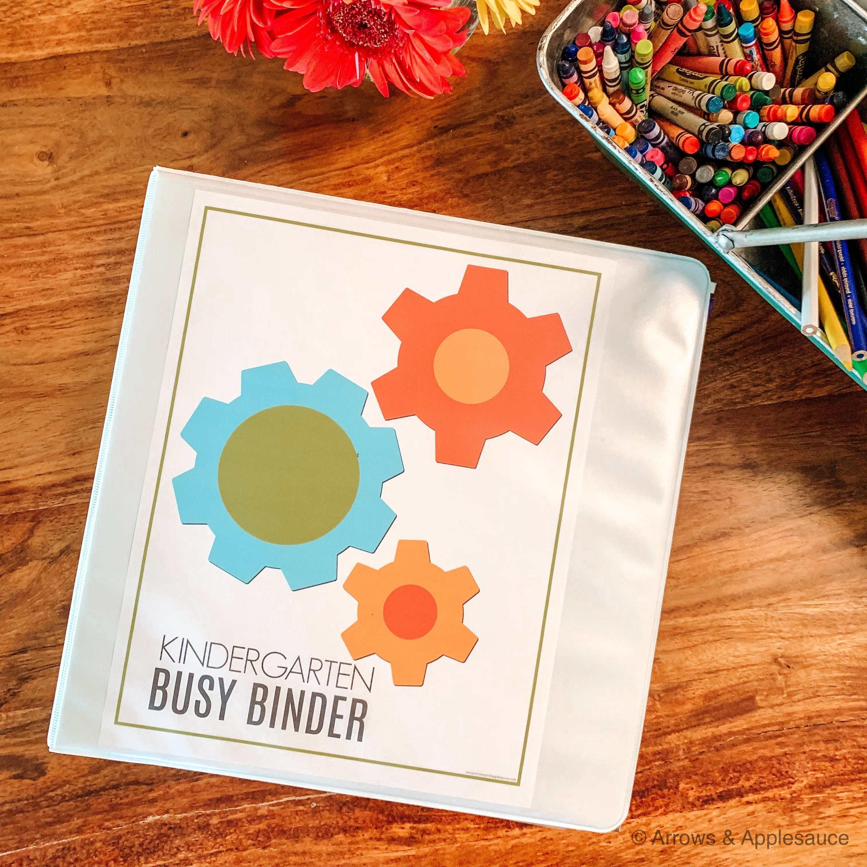 Our Kindergarten Busy Binder