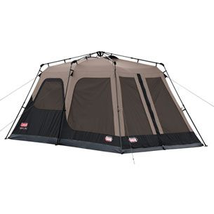 Coleman 8-Person Instant Set-Up Tent - One Minute set-up or  sc 1 st  Pinterest & Coleman 8-Person Instant Set-Up Tent - One Minute set-up or take ...