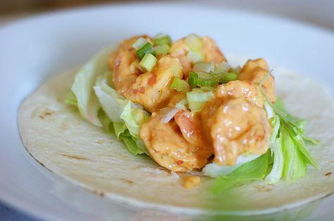 Bonefish Grill's Bang Bang Shrimp Tacos