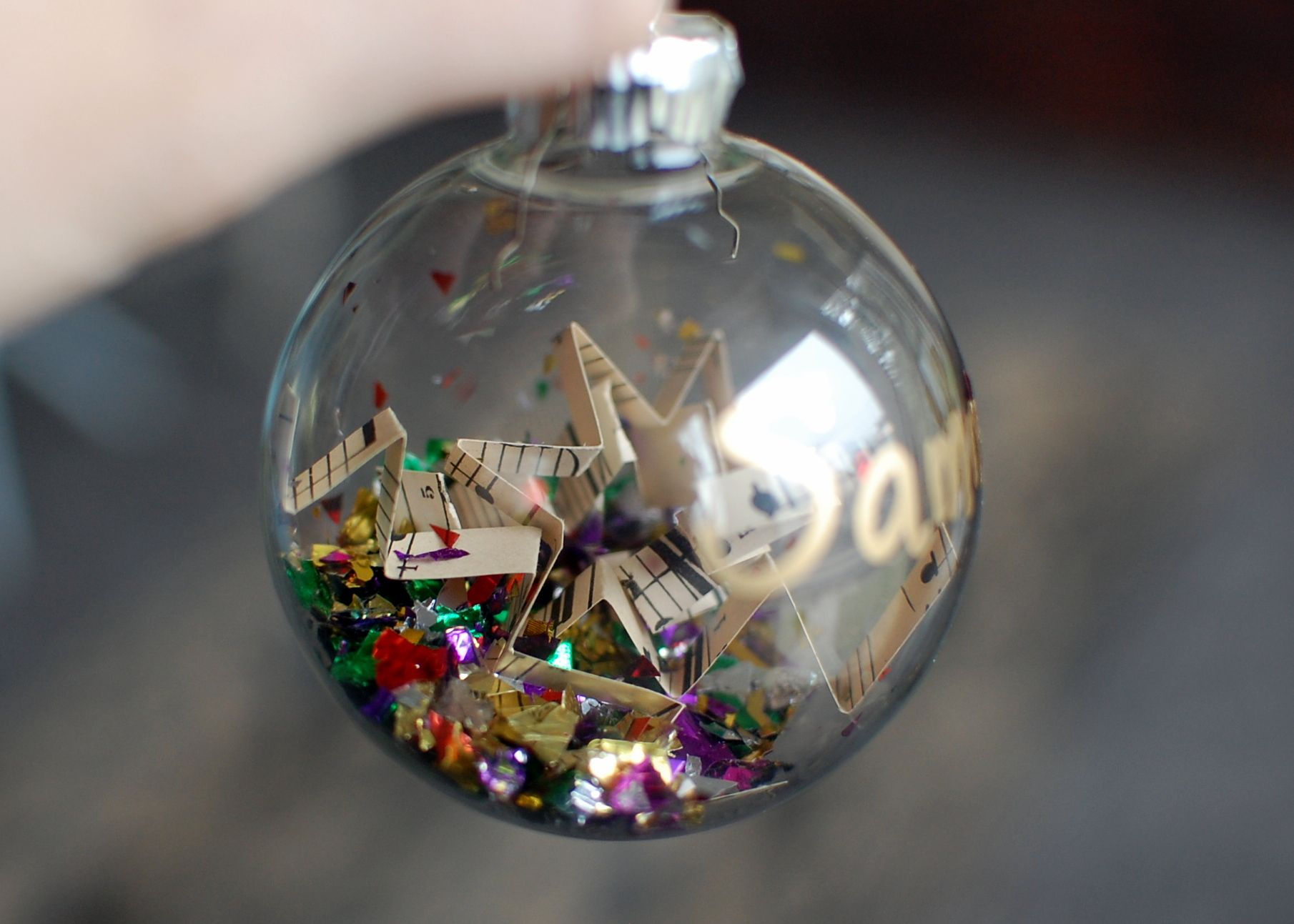 Music ornament--pretty and a neat idea for student gifts. | Crafty ...