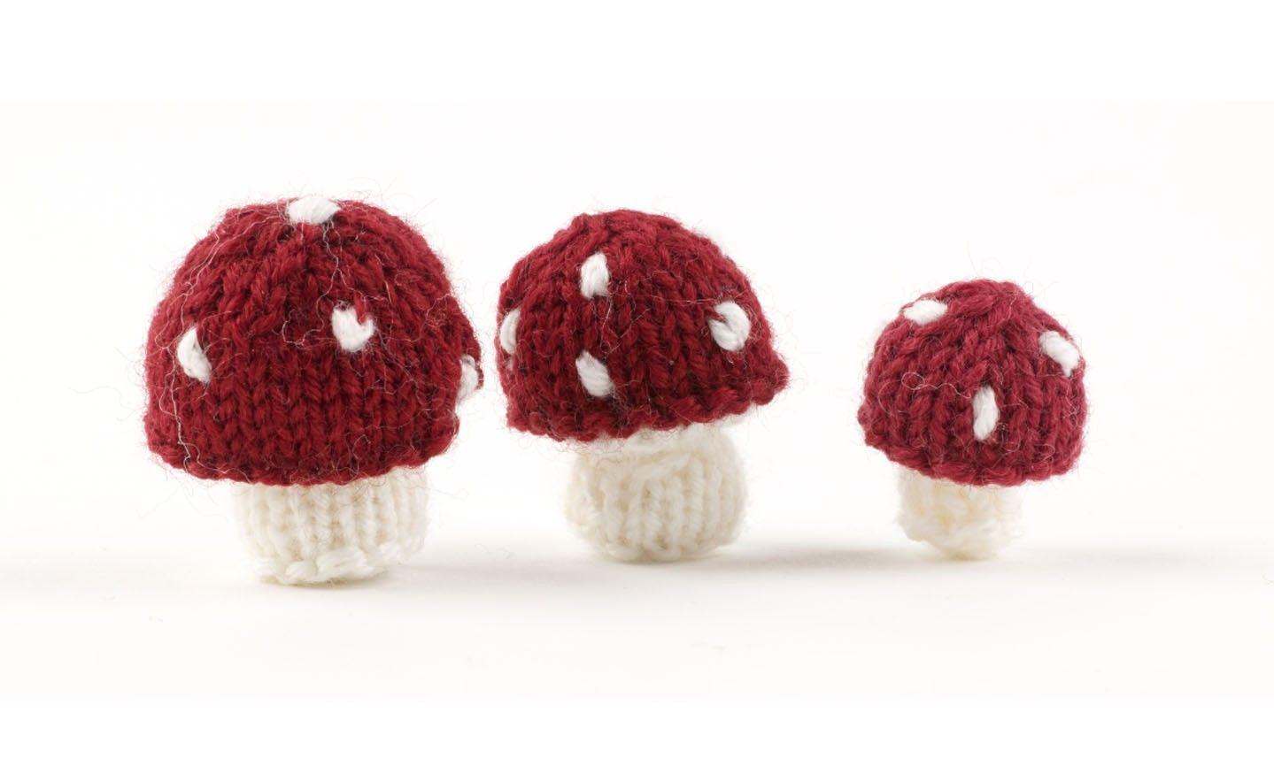 Mushrooms By Sachiyo Ishii Free Pattern Knit Knit Knit Free