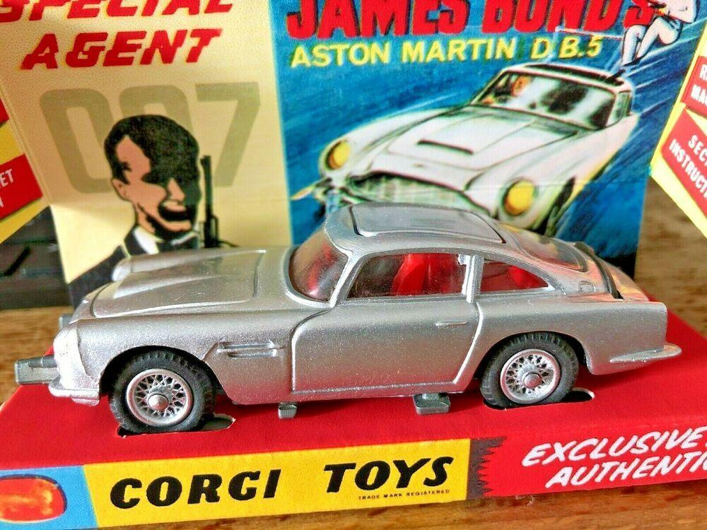 Corgi Toys Aston Martin Db5 James Bond Code 3 Unikat Aston Martin Db5 Bond Aston Martin