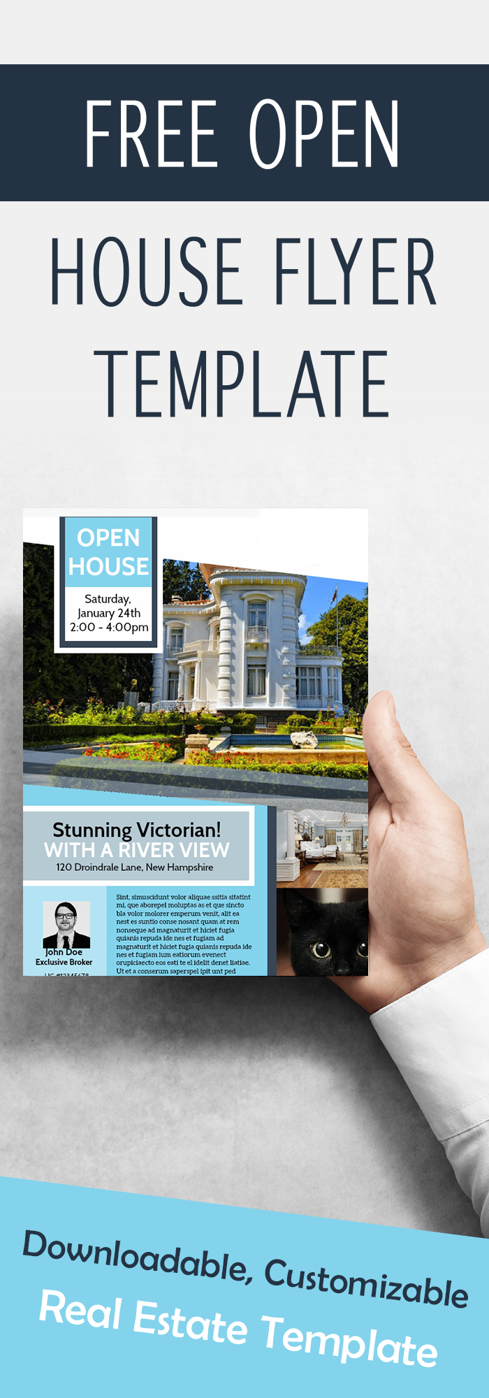 Free Open House Flyer Template Gallery Template Design Ideas - Open house ad template