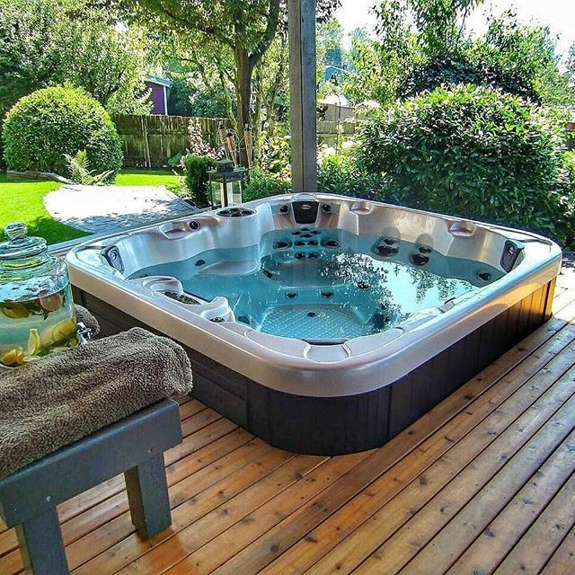 What A Beautiful Installation  We Love Seeing Coast Spas Hot Tubs In Their New Homes  Make Sure