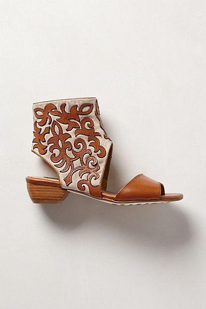 Leatherwork Forrest Sandals - anthropologie.com