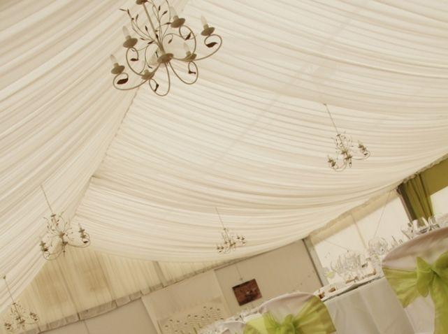 1000 images about plafond de salle on pinterest - Drap Mariage Plafond