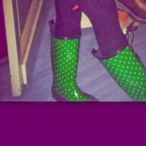Paty Stuff: Confesiones: Casada con Bordeaux vol. 2 // #JCrew polka dot wellies #love