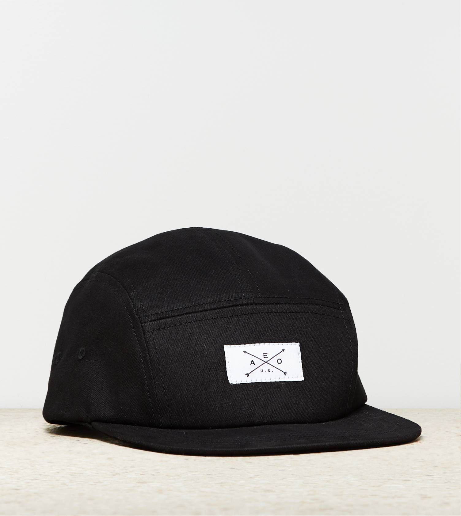 6445a85ba33 Solid 5-Panel Hat   absolutely lv!