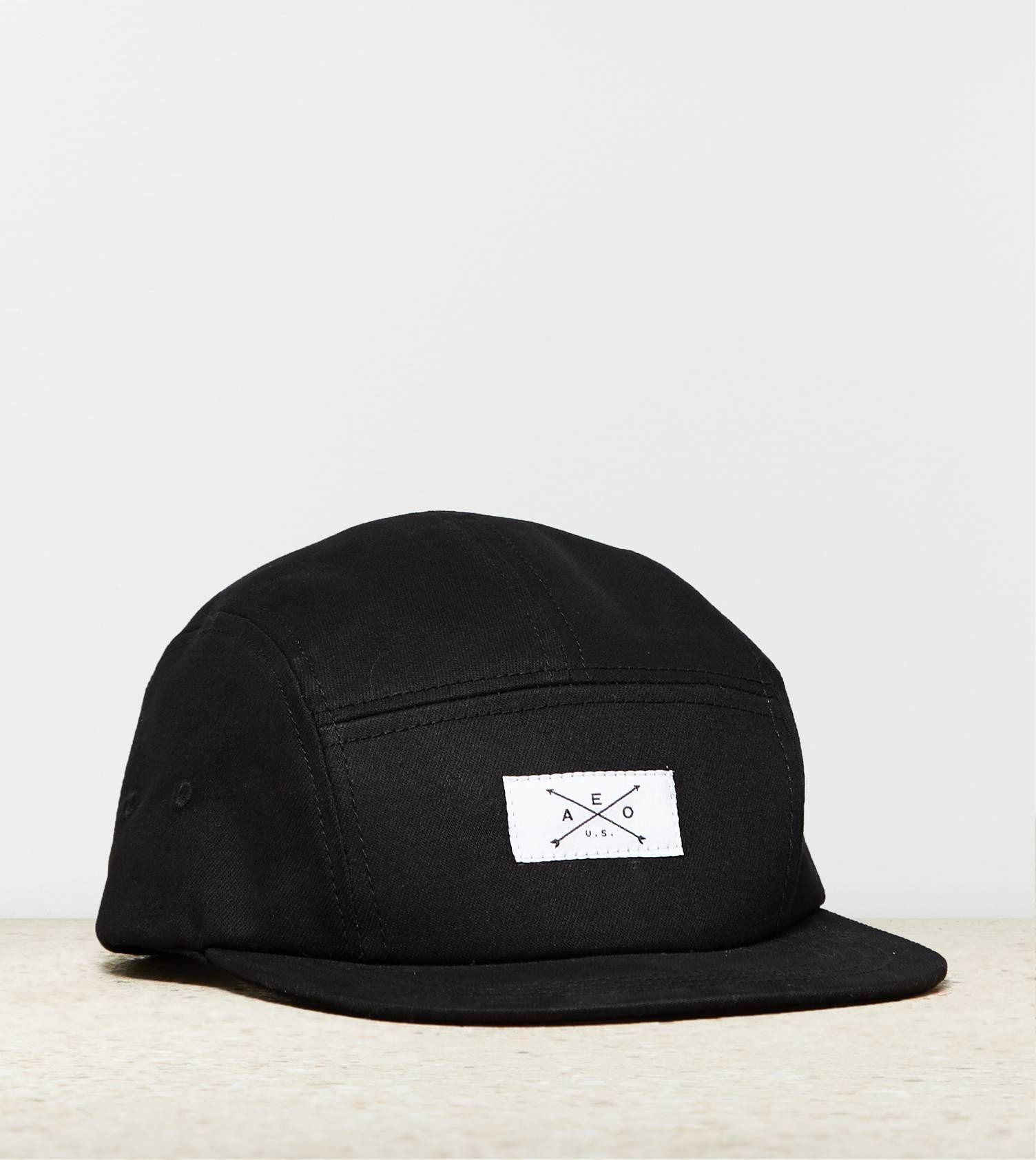Solid 5-Panel Hat