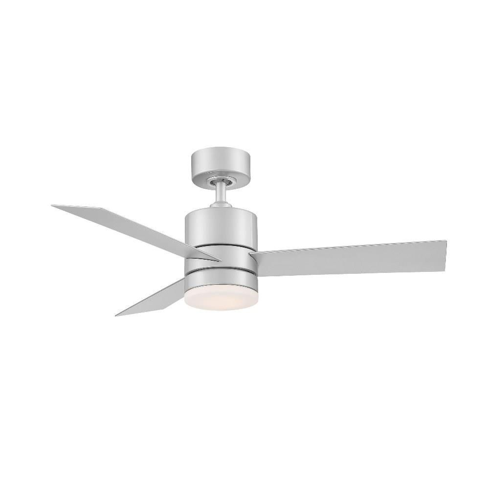 Modern Forms Fr W1803 44l Axis 44 Inch 3 Blade Ceiling Fan With Light Kit And Remote Control In 2021 Ceiling Fan With Light Led Ceiling Fan Ceiling Fan