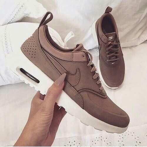 Sneaker Beige, Beige Sneakers, Leather Sneakers, Sneakers Nike, Nike Air Max , 591b232e2d7e