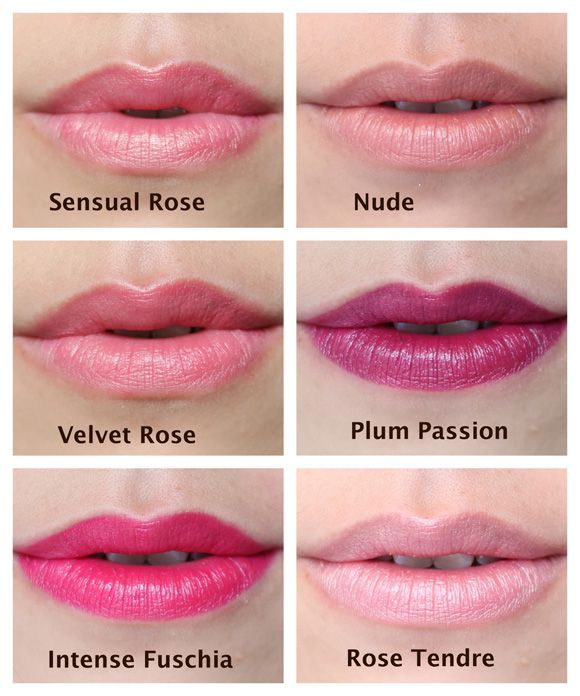 L\'Oreal Color Riche lipstick swatches: Sensual Rose, Nude, Velvet ...