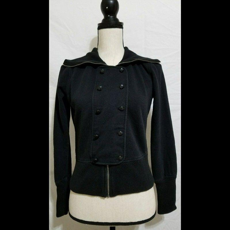 ca6db1fd45a53 Banana Republic Black Fleece Anne Jacket M