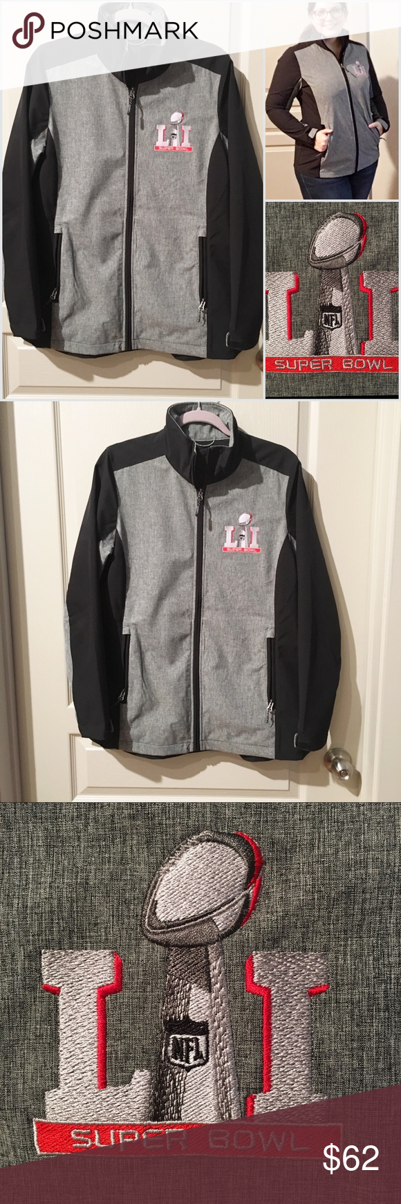 newest dd852 26754 NFL Super Bowl 51 Official Gear Jacket | My Posh Picks ...