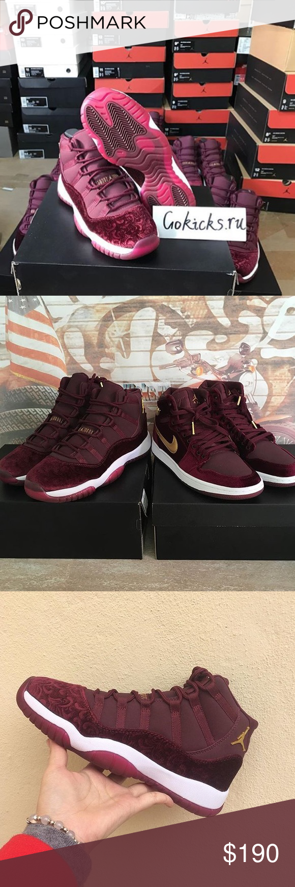 "362dde90b00 Spotted while shopping on Poshmark: Air Jordan Retro 11 ""Heiress""! #poshmark  #fashion #shopping #style #Jordan #Shoes"