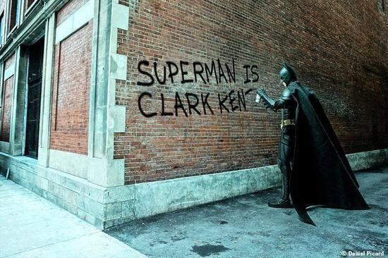 That's low Batman...