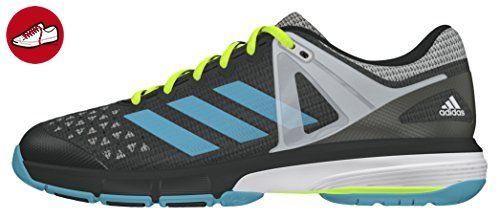size 40 bdfaf 389fe adidas Damen Court Stabil 13 Handballschuhe, Grau (Dgh Solid GreyVapour  Blue