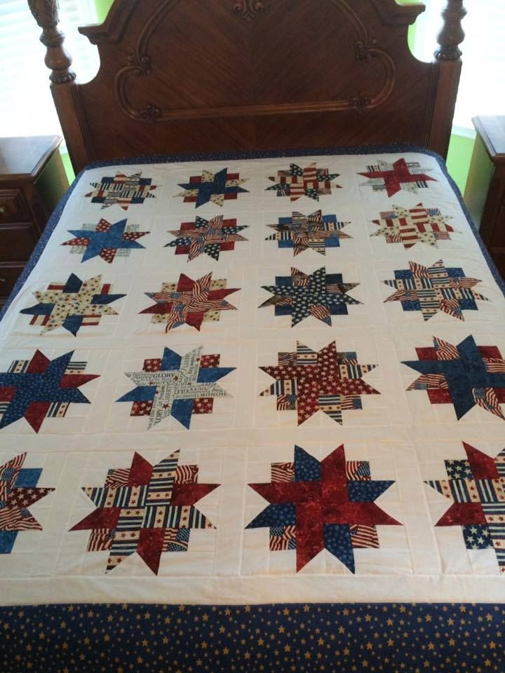 Quilts Of Valor Inspiration Star Quilts Pinterest Inspiration