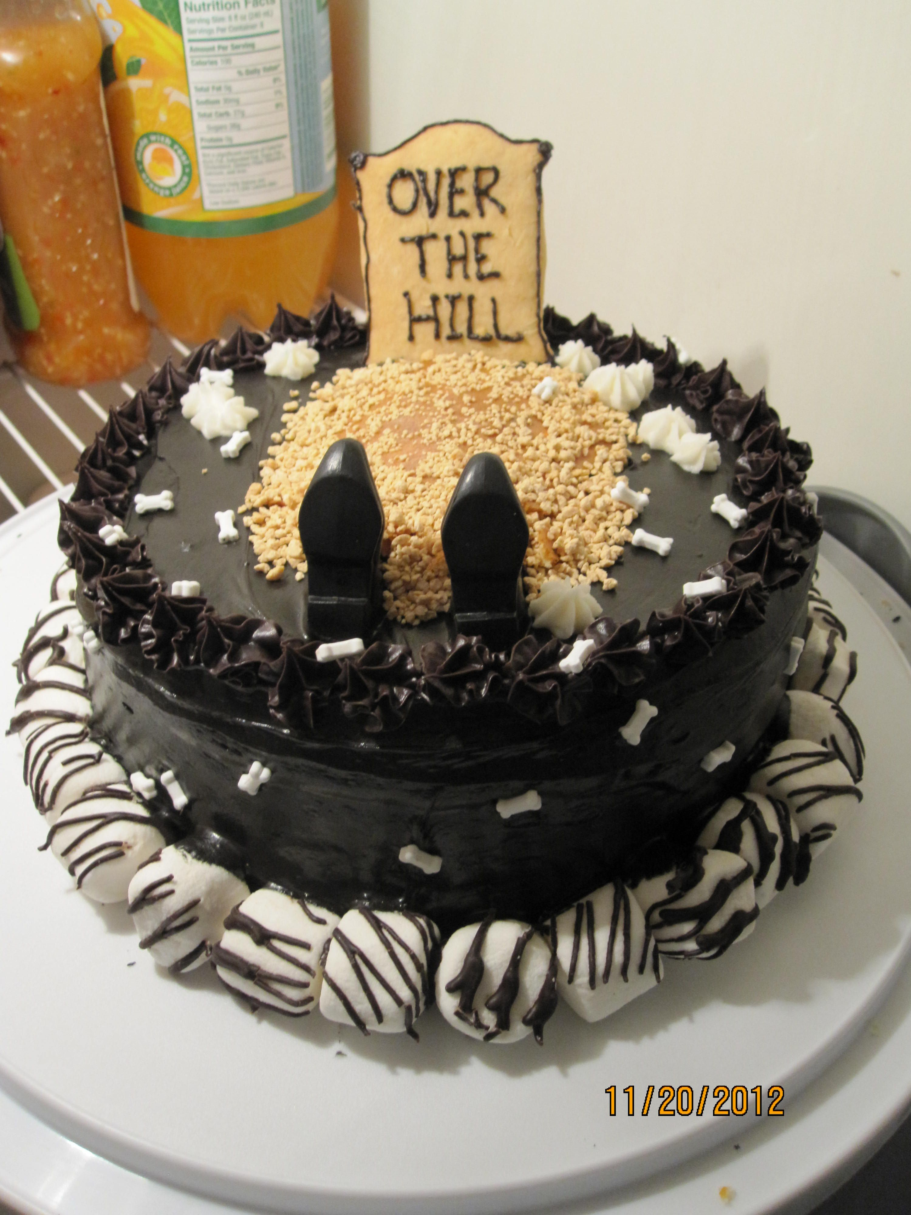 Over The Hill Cake I Made My Things Over The Hill