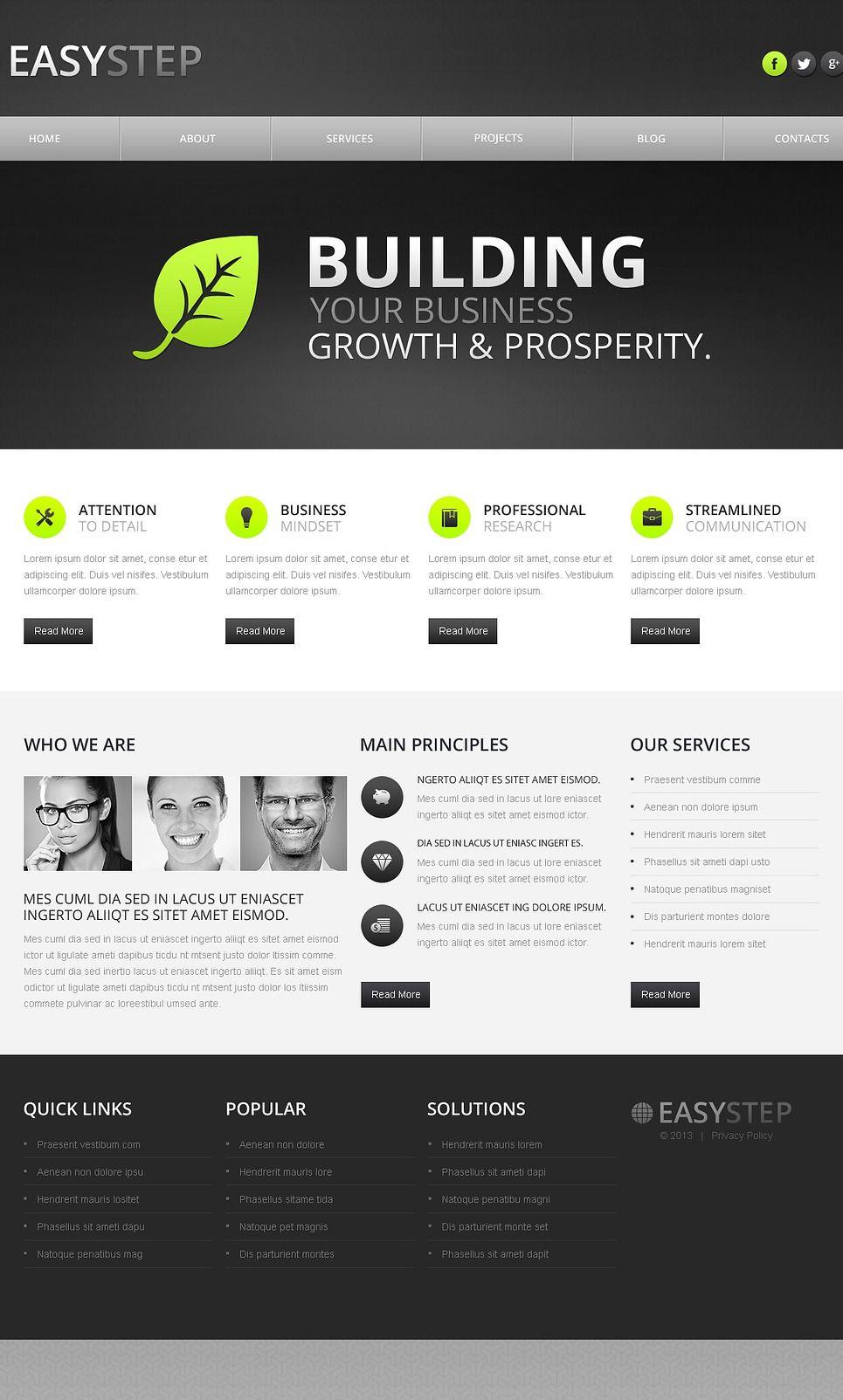 Conceptual Marketing Agency Drupal Template 43170