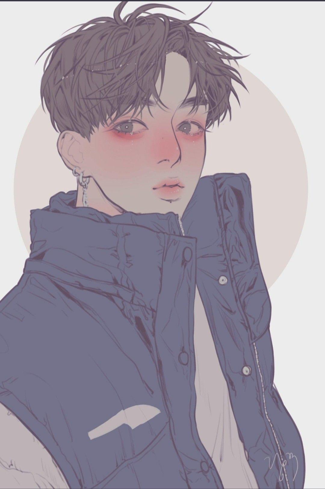 Rangku Jungkook Fanart Boy Art Cute Anime Guys