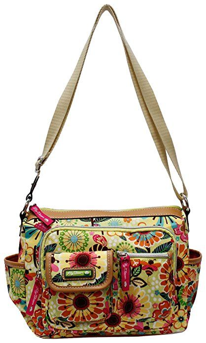 Lily Bloom Libby Hobo Handbag One Size Busy bee