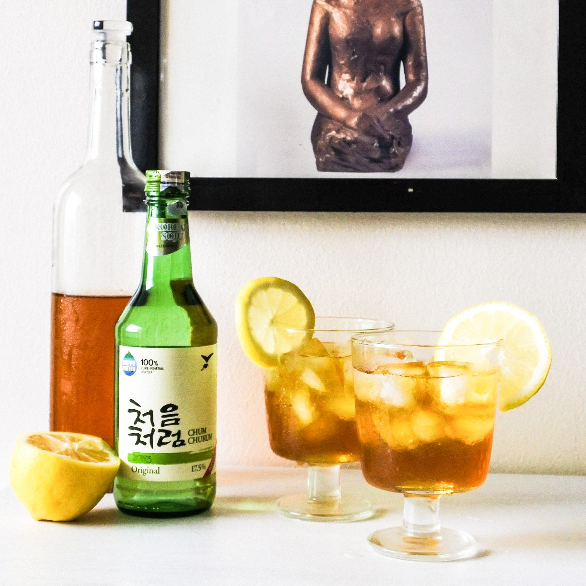 Photo of Korean Iced Tea (Green Tea Soju cocktail) – Spicepaw