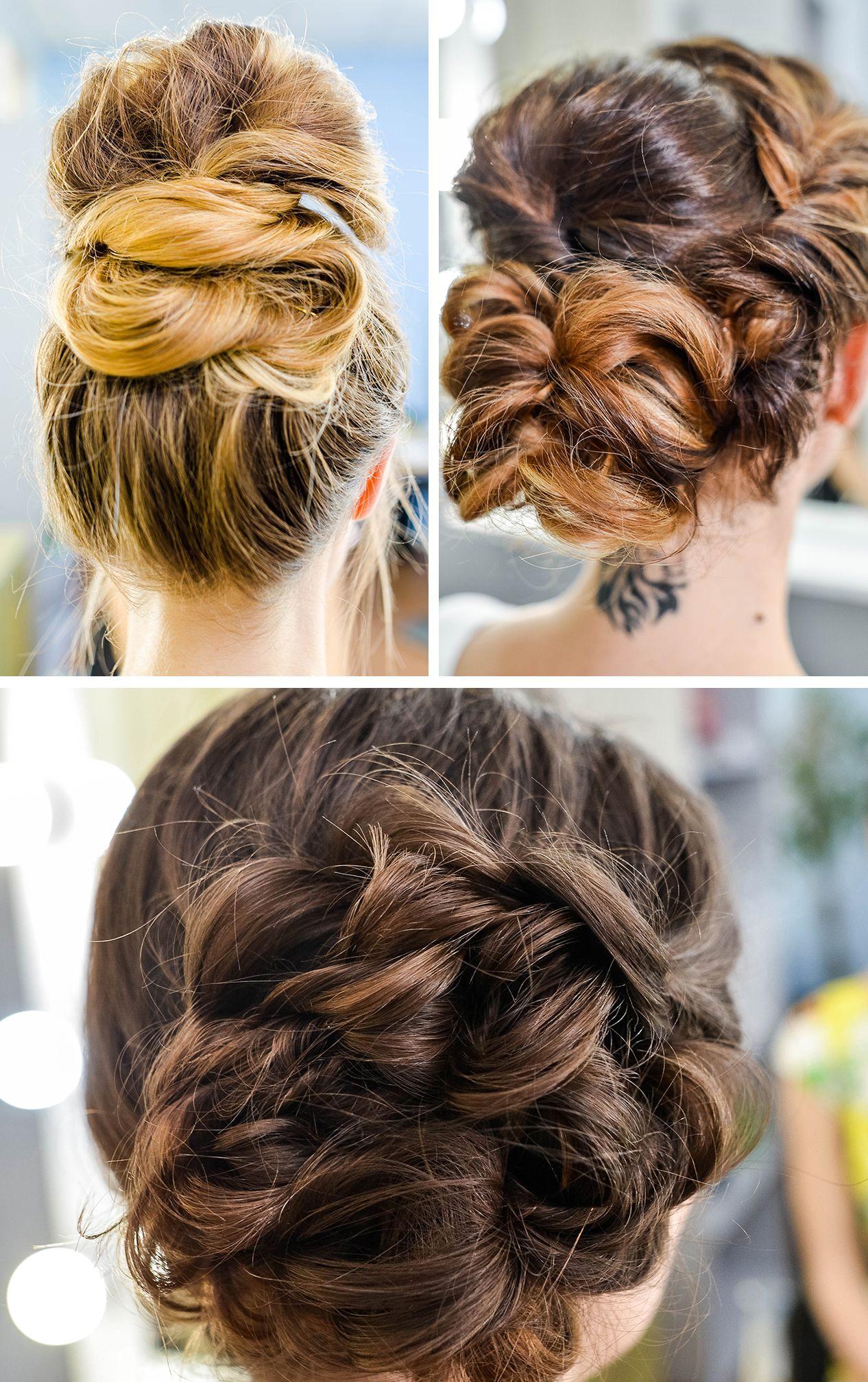 3 Lovely Bun Hairstyles for Fine Hair