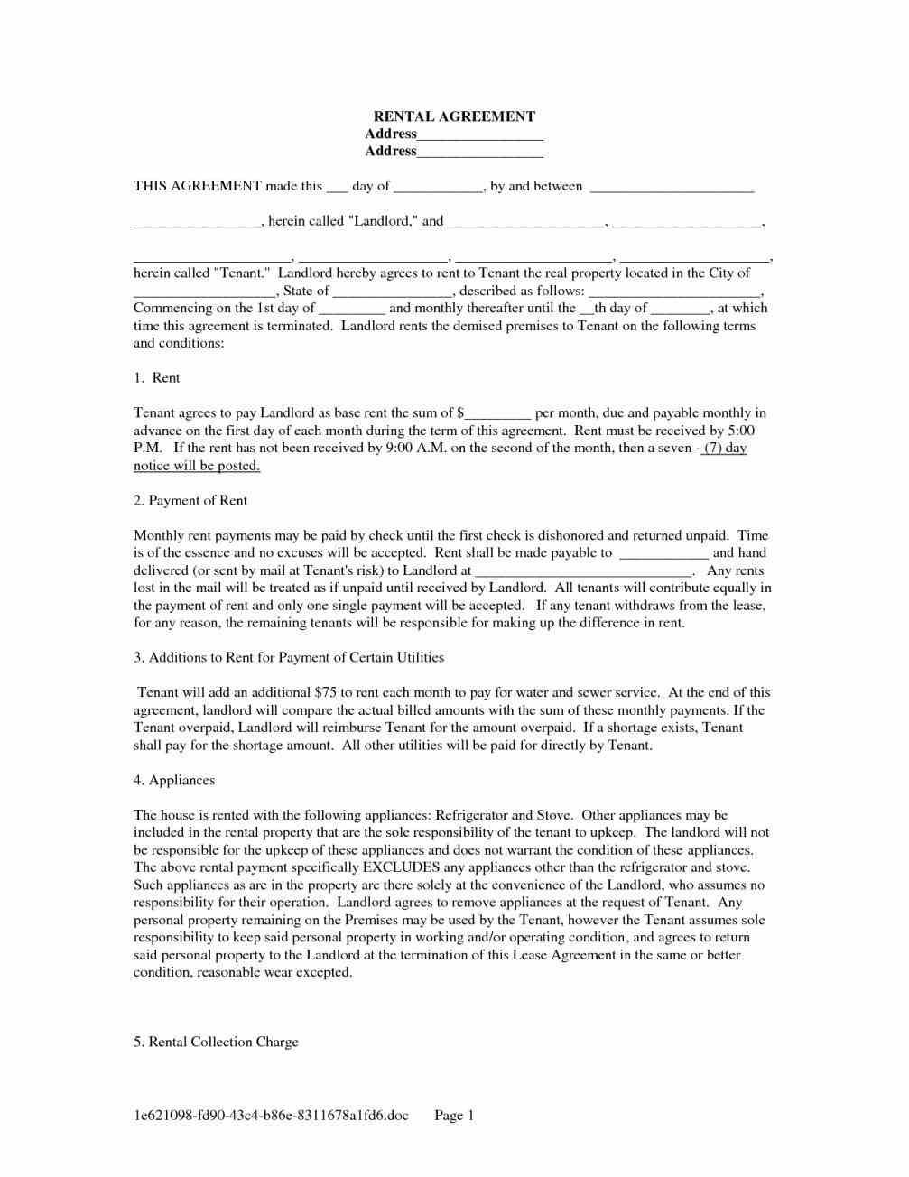 Pin By Miranda Smith On Tenancy Lease Agreement Template