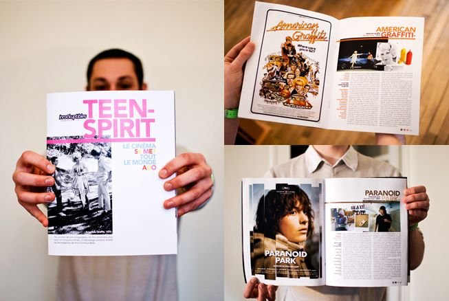 les inrockuptibles / teen spirit / btg communication