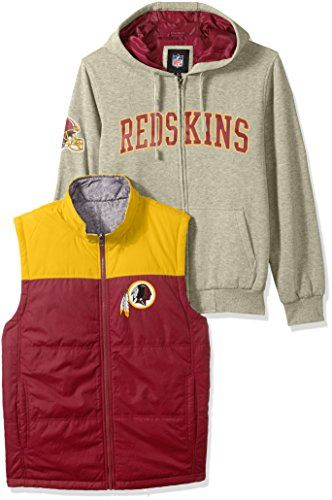 4c519a33 NFL Washington Redskins Mens 3in1 Fleece Full Zip Systems Jacket ...