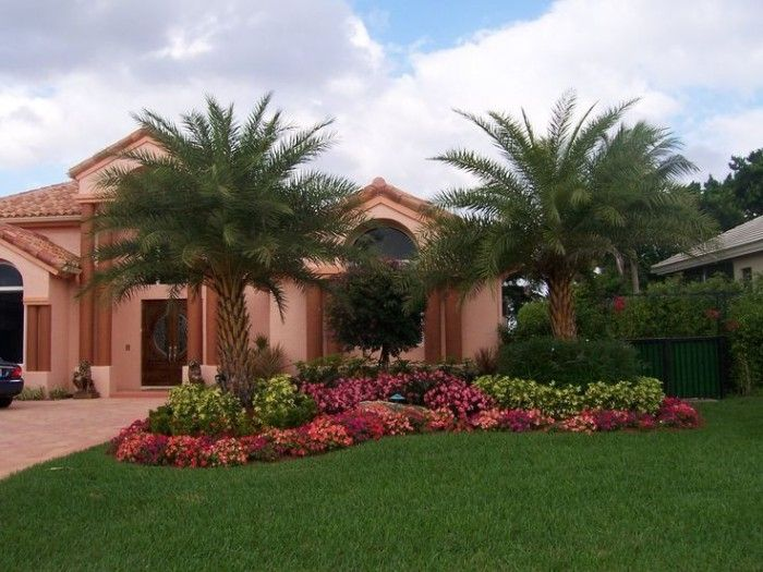 landscaping ideas for front yard in south florida - Florida Landscape Design Ideas