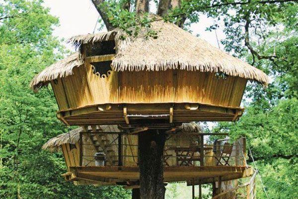 casas-arboles-14 casa Pinterest Casas, El arbol y Casas de arbol - casas en arboles